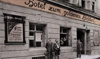 Goldener Hirsch Hotel in 1919