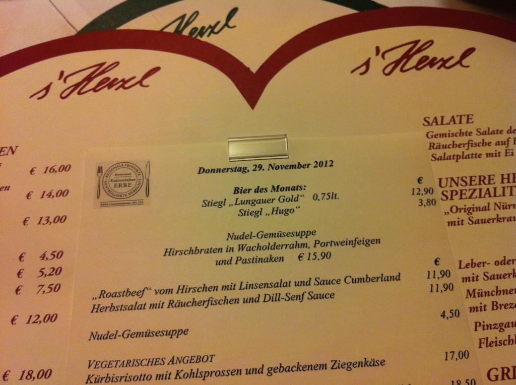 Herzl Restaurant, Salzburg