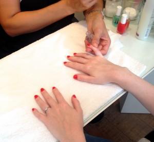Sophie Gass Essie Manicure