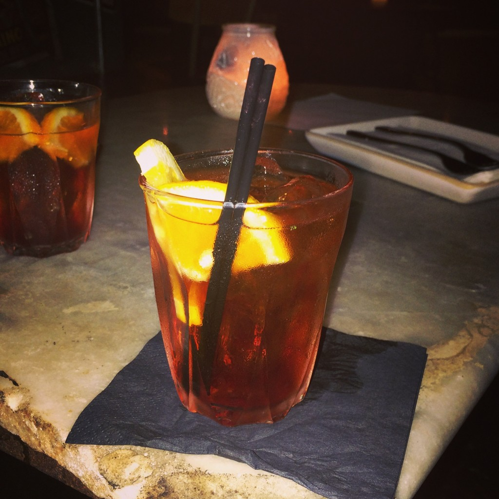 Negroni at Paesan