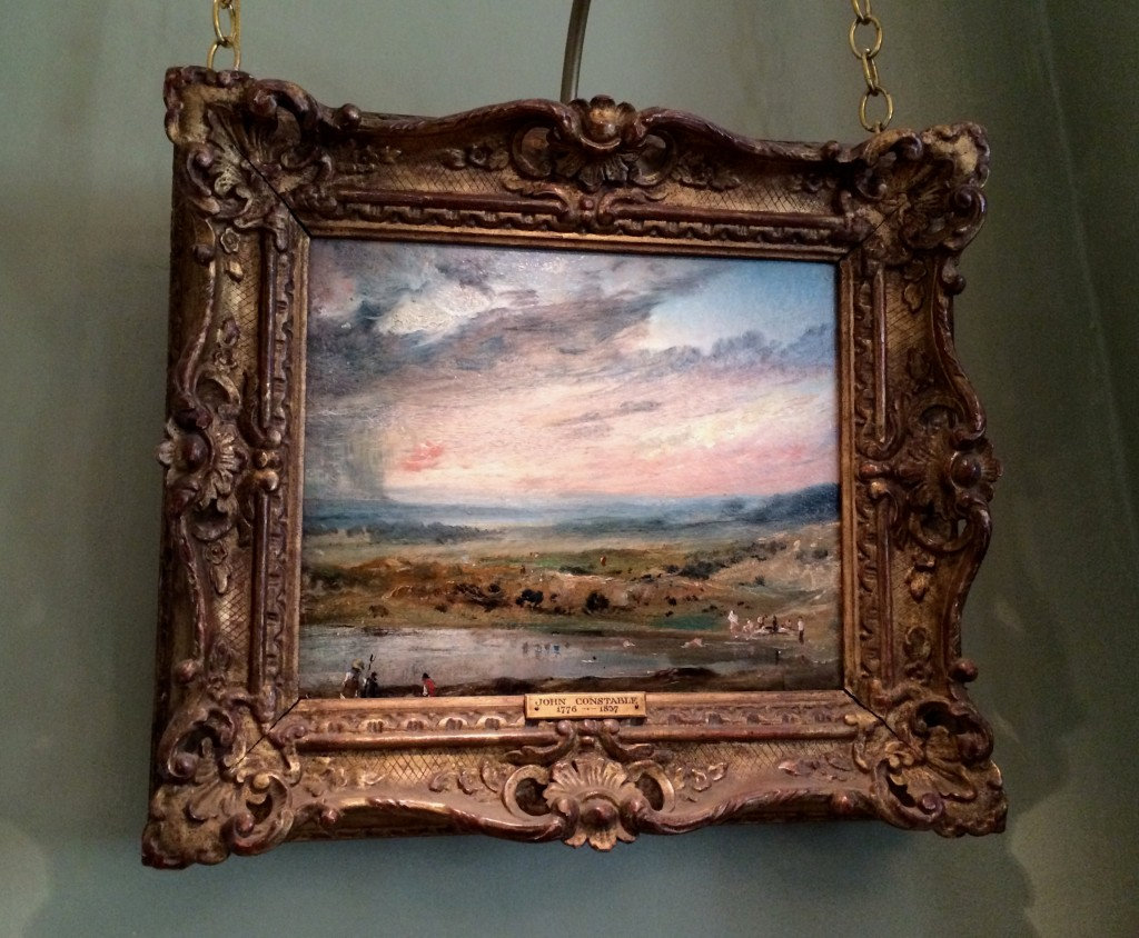 Turner painting in Kenwood House